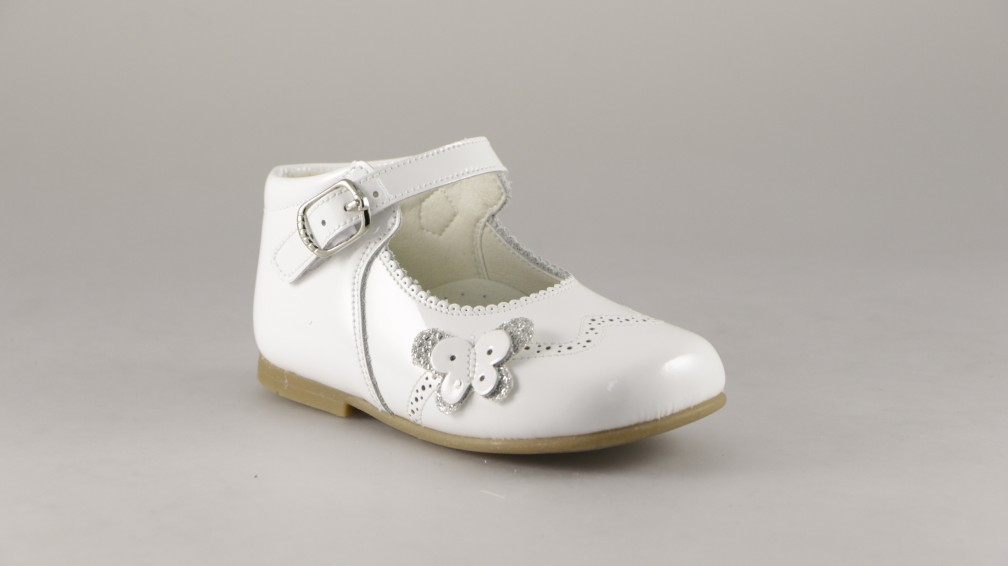 BAMBI SHOES BOTITA MERCEDES MARIPOSA DOBLE PICADOS