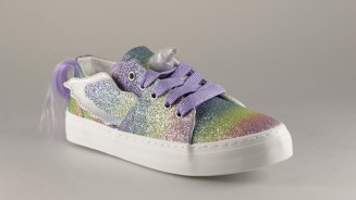CONGUITOS CANVAS CORDON GLITTER MULTI UNICORNIO