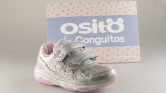 OSITOS BY CONGUITOS DEPORTIVO LUCES PLATA