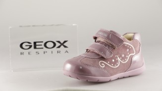 GEOX BOTITA NOBUCK ROSA LATERAL DIAMANTITOS