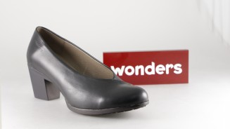 WONDERS SALON NEGRO COSTURA TACON MEDIO