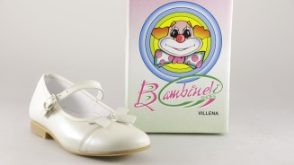 BAMBI SHOES MERCEDITAS BEIGE LACITO DIAMANTITOS