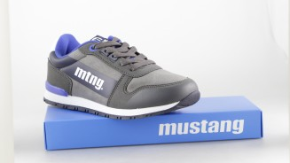 MUSTANG KIDS DEPORTIVO CASUAL CORDON LETRA LATERAL