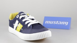 MUSTANG KIDS CANVAS CORDON CASUAL MARINO BANDA