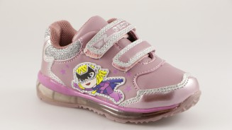 GEOX DEPORTIVO GIRL ROSA CON LUCES