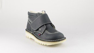 BOSTON BOTA VELCRO PESPUNTES